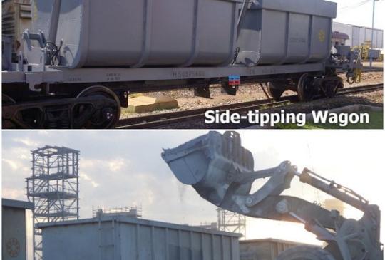 tipping-wagon